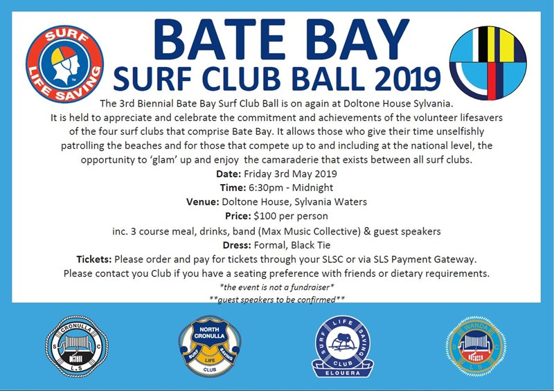 2019 Bate Bay Ball